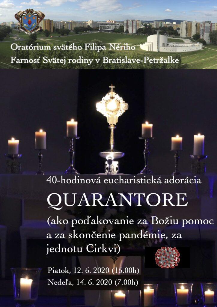 Quarantore - 40hodinová adorácia